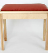 1. Solo Box Stool With Inset Pad - MS801