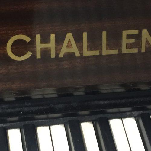 Challen upright mahogany 4