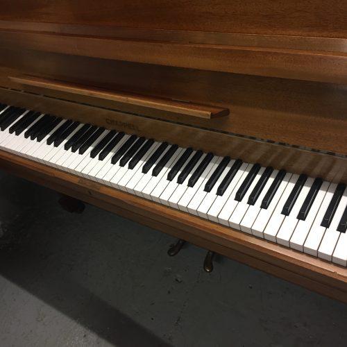 Chappell Upright Piano Teak 3